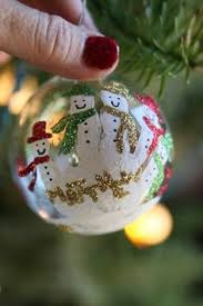 handprint orniment holidays craft and