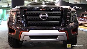 nissan titan interior 2016 nissan titan warrior concept exterior and interior walkaround