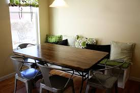 Small Breakfast Nook Table by Breakfast Nook With Banquette Seating
