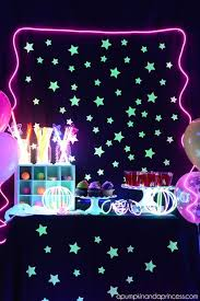 glow party ideas glow in the party birthdays and party