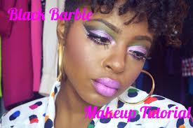Halloween Makeup For Dark Skin by Cheap Beat Black Barbie Makeup Tutorial Youtube