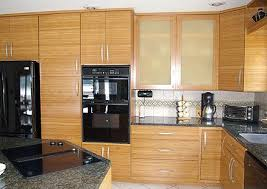 black kitchen cabinets home depot bamboo kitchen cabinets are strong durable and eco friendly