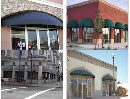 Pyramid Awnings Storefront Curved Awnings Js Canvas Awnings Of Sacramento