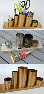 Diy Desk Organizer Ideas Extraordinary Diy Desk Decor Ideas Home Office Design Ideas