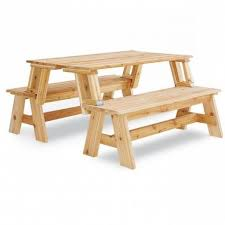 folding bench and picnic table combo pdf woodworking plan new