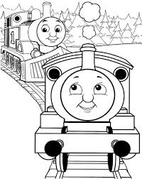 free thomas the train coloring pages line drawings 1691