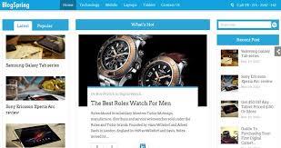 best blog themes ever 20 best responsive wordpress blog themes of 2015