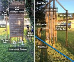 Backyard Pull Up Bar by 67 Best Home Diy Backyard Fitness Obstacle Course Images On