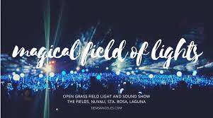 holiday magic festival of lights 2017 nuvali magical field of lights 2017 dems angeles