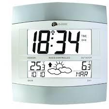 Grande Horloge Murale Pas Cher by Pendule Murale Radio Pilotee 1001 Pendules