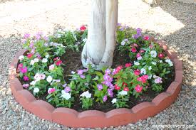 Landscaping Ideas Around Trees Pictures by How To Build A Flower Garden Around Tree The Best Flowers Ideas