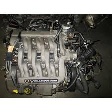 mazda mpv 1999 2000 2001 gy de dohc 2 5l v6 engine 2 5 liter motor
