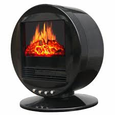 desk space heater 3d motion fireplace desktop heater the green head
