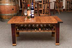 Wine Coffee Table Wine Country Coffee Table Uniquely Practical