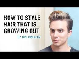men growing hair out stages how to style hair growing out ditching the undercut men s