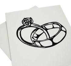 linked wedding rings wedding ring clipart clipartion