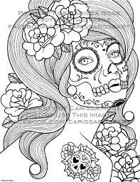 digital download print coloring book outline