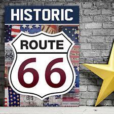 tin americana route 66 home décor plaques u0026 signs ebay