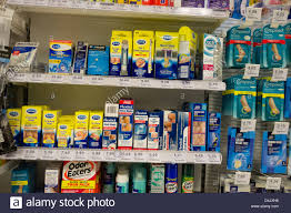 boots uk retail packs of scholl and other footcare products on sale in