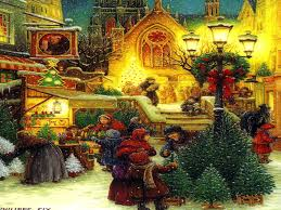Best Painting Christmas Paintings Wallpapers Widescreen Wallpapers Of Christmas