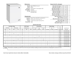 chest freezer specs and layouts home brew forums