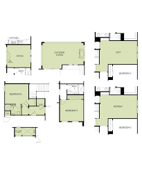 woodside homes floor plans woodside homes hillingdon at solaire plan 2813 1211006