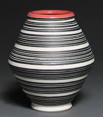 Striped Vase Striped Pots Kylereesceramics