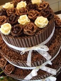 os 15 bolos de casamento de chocolate mais lindos que você já viu