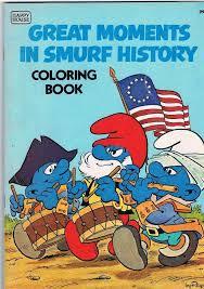 409 vintage smurfs images barefoot smurfette