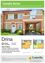 floor plan drina house model best art camella homes kevrandoz