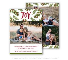 christmas card template holiday card template for photographers
