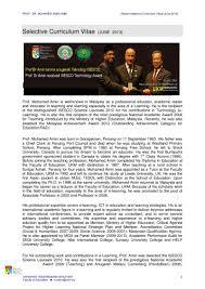 Format Resume Pdf Bahasa Melayu by Cv Prof Amin Pdf Flipbook