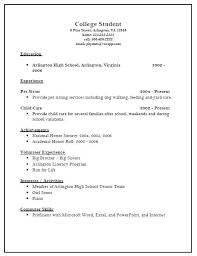 resume for college applications templates for resumes exles of resumes for college applications