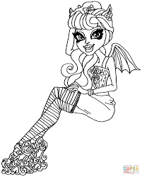 rochelle goyle zombie dance coloring page free printable