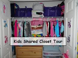 kids shared closet tour 2015 youtube