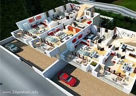 Residential Plan 3d Floor Plan Design Interactive 3d Floor Plan Yantram Studio