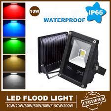 Flood Light Led Bulb by Aliexpress Com Buy Rgb Floodlight Led Flood Light 10w Ip65