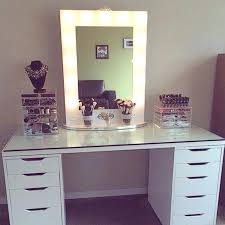 glass top vanity table fabulous glass top vanity table full size of makeup table glass top
