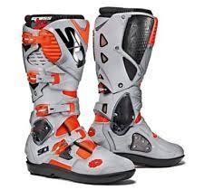 s moto x boots sidi crossfire 3 srs flo ash moto x boots ec 42 751798 ebay