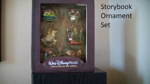 disney storybook ornament set