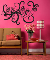 large flower wall decals vinyl flower stickers stickerbrand vinyl wall decal sticker vine os mb241