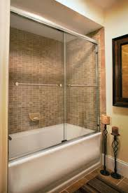 Glass Doors For Tub Shower Great Sliding Tub Shower Doors With Sliding Bathtub Doors American