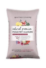natural premium poultry manure