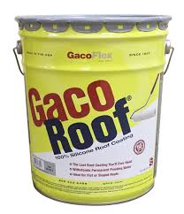 Apoc Elastomeric Roof Coating by Gacoroof 100 Silicone Roof Coating 5 Gallon