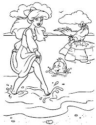 mermaid coloring sheets coloring