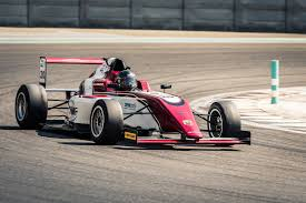 formula 4 car formula 4 uae competitors fight for first f4uae championship
