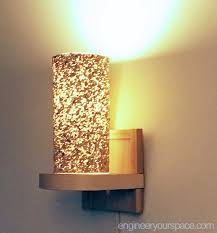 small living room lighting ideas how to make a wall lamp sconce