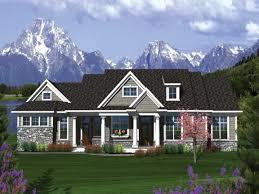 Craftsman Home Plan by House Plan Walkout Basement Plans Craftsman House Plans With