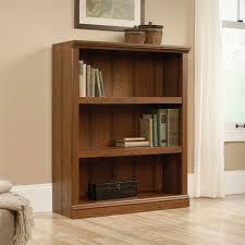 Cherry Home Decor by Sauder 3 Shelf Bookcase Cherry Room Design Decor Amazing Simple