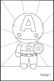 articles captain america coloring print tag captain